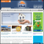 Screen shot of the Insulation Techniques & Services Ltd website.