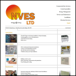 Screen shot of the Nves Ltd website.
