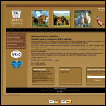 Screen shot of the Owens Nutrition Ltd website.