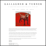 Screen shot of the Gallagher & Turner website.