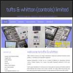 Screen shot of the Tufts & Whitton website.