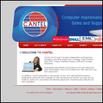 Screen shot of the Cantel Computer Services Ltd website.