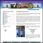 Screen shot of the Ystradgynlais Volunteer Centre website.