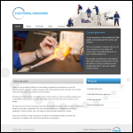 Screen shot of the Chester Scientific Glassblowing Services website.