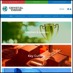 Screen shot of the Crystal Vision Locksmiths & Window Repair Centre website.