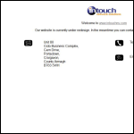 Screen shot of the Intouch Network Solutions Ltd website.