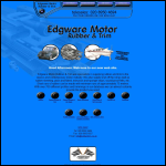 Screen shot of the Edgware Motor Accessories website.