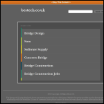 Screen shot of the Bestech Systems Ltd website.