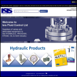 Screen shot of the ISIS Fluid Control Ltd website.