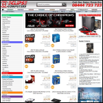 Screen shot of the Eclipse Computer Supplies Ltd website.