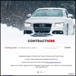 Screen shot of the Clayton Car Contracts Ltd website.