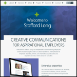 Screen shot of the Stafford Long & Partners website.