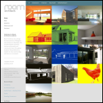 Screen shot of the Room Architects Ltd website.