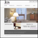 Screen shot of the M A S Furniture Contracts Ltd website.