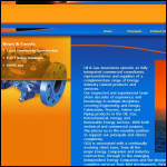 Screen shot of the Oil & Gas Associates Ltd website.