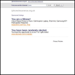 Screen shot of the IPhoneinsurance.Org.Uk website.