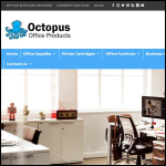 Screen shot of the Octopus Office Products Ltd website.