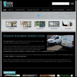Screen shot of the Door Support Ltd website.