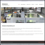 Screen shot of the Ashgrove Engineering website.