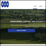 Screen shot of the Radio Data Networks Ltd website.