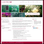Screen shot of the Cistron Ltd website.
