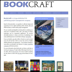 Screen shot of the Bookcraft Ltd website.