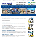Screen shot of the MTH Tool Hire Ltd website.