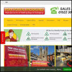 Screen shot of the Poly Postal Packaging Ltd website.