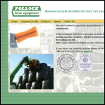 Screen shot of the Pollock Farm Equipment Ltd website.