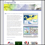 Screen shot of the Logistech Ltd website.