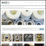 Screen shot of the Evalve Ltd website.