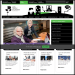 Screen shot of the Leeds Chamber of Commerce website.