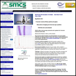 Screen shot of the Smcs Ltd website.