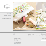 Screen shot of the IHR Ideal Home Range U K Ltd website.