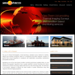 Screen shot of the Geo Therm Ltd website.