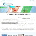 Screen shot of the ITT Cleaning Services Ltd website.