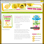 Screen shot of the Lemon Jelly Marketing website.