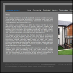 Screen shot of the RVM DESIGN Architects website.