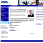Screen shot of the Association of Consulting Actuaries website.