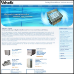 Screen shot of the Valradio Electronics Ltd website.