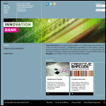 Screen shot of the British Design Innovation website.