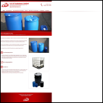 Screen shot of the A & B Containers Ltd website.