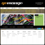 Screen shot of the Gomango Ltd website.