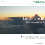 Screen shot of the Littlemore Scientific Engineering website.