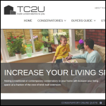 Screen shot of the Trade Conservatories 2 U Ltd website.