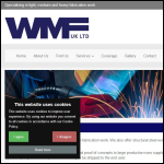 Screen shot of the Williams Metal Fabrications Ltd website.