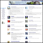 Screen shot of the British Structural Waterproofing Association website.