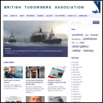 Screen shot of the British Tugowners Association website.