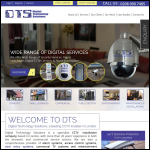Screen shot of the Digital Technology Solutions website.