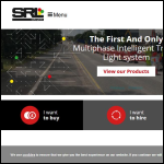 Screen shot of the SRL Traffic Systems Ltd website.